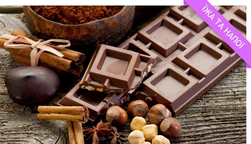 Апетитні факт про шоколад